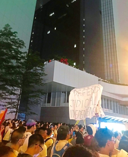 The people of Hong Kong - who have been protesting in the streets since March this year - are pressuring their Chief Executive Carrie Lam Cheng Yuet-ngor to scrap the Extradition Bill.