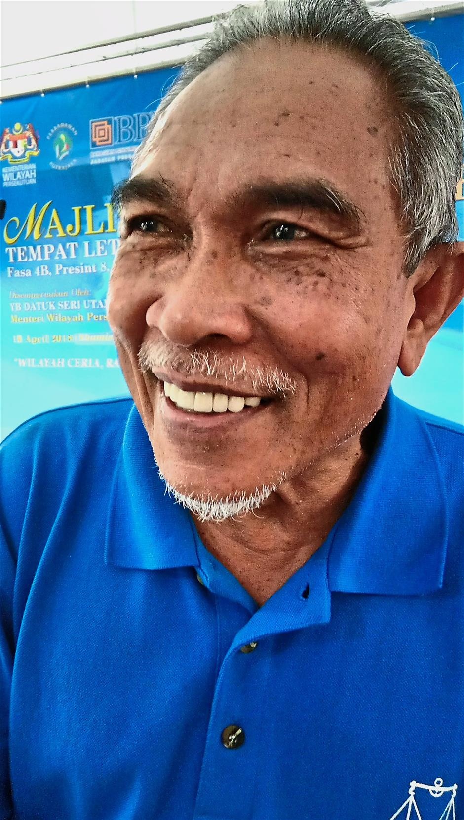 Nordin says it is good for the authorities to implement security measures like an access card system once the multi-level carpark is completed.