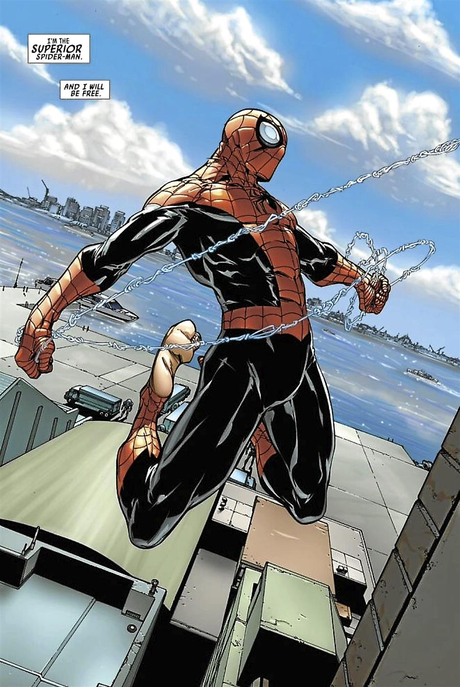 The Superior Spider-Man features heavily in Kaleon's list.