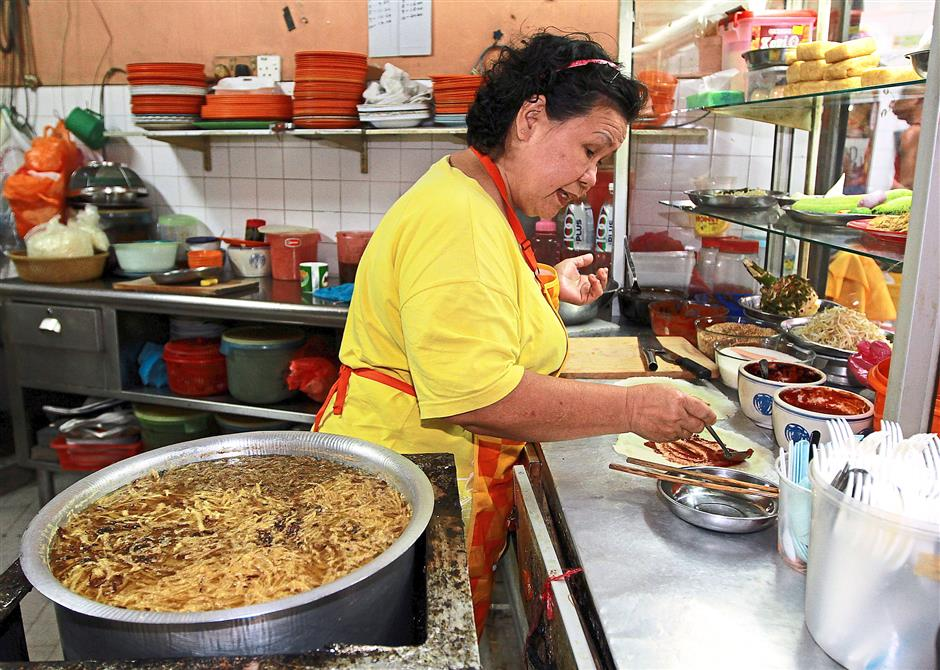 Experienced: Soo Kam Tai and her husband have been running their business at Taman Selera in PJ Old Town since the early 80s.