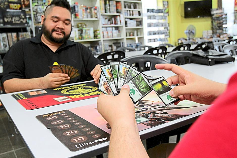 The gathering: Spartan Games Arena co-founder Nik Nadzru says comic retail shops like his is where fans of Magic: The Gathering go to play and attend weekly Magic events, and it is that local community bond that's helping the game grow even bigger.