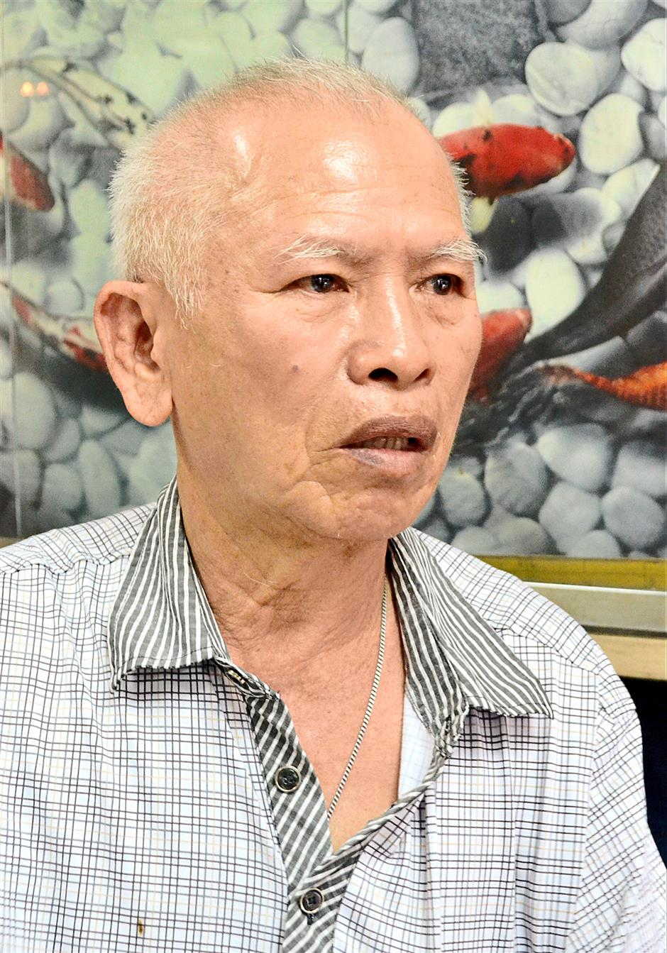 Tailor Cheong Chin Hin said he can see commotion broke off inside the Pudu Prison