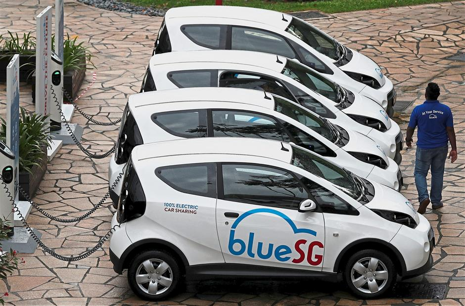 Electric Car Rental >> Over 3 300 Sign Up For S Pore Electric Car Rental Service