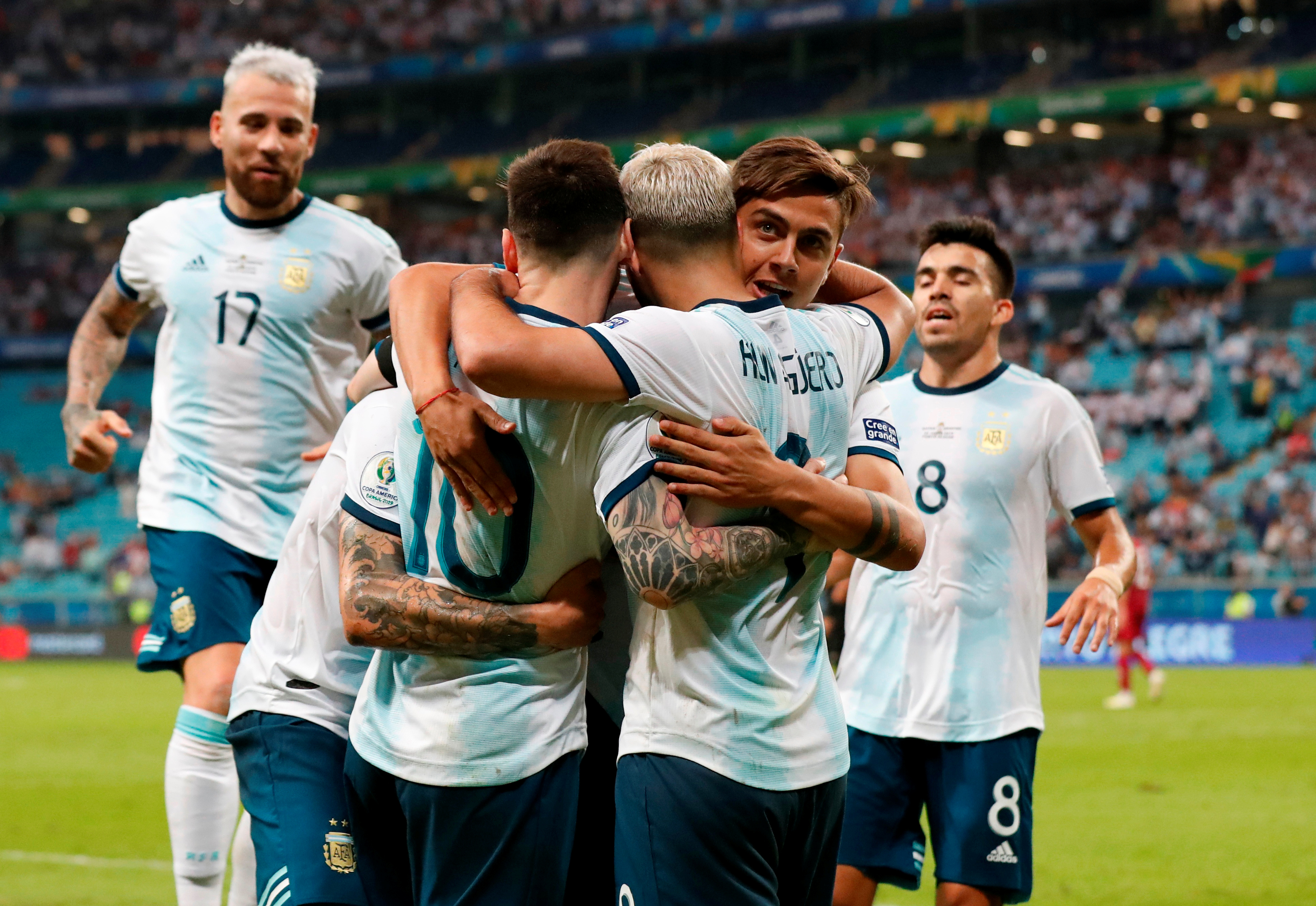 fashion crazy price new appearance Football: Argentina beat Qatar 2-0 to qualify for Copa ...