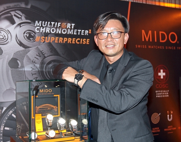 Heng says the new collection is suitable for Malaysian tastes as they like sporty watches.