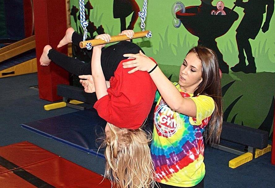 Gym owner Courtney Grady says her gym gives children a start toward living active lifestyles. (Craig Hill/The News Tribune/MCT)