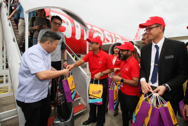 AirAsia\'s Singapore to Ipoh direct flight takes off   The ...