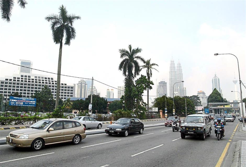 Jalan Semarak will be renamed  as Jalan Sultan Yahya Petra.— filepic