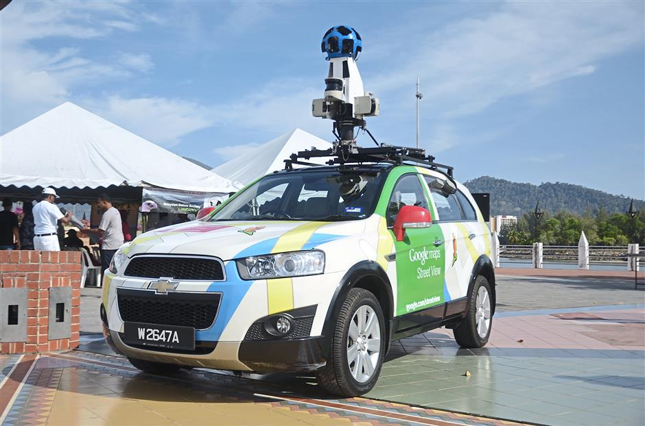 Street View cars have been traversing our roads since last year to capture 360 panoramic views of streets in the peninsula.