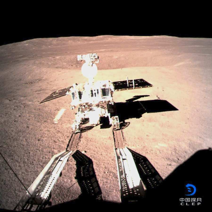 Unknown territory: Yutu 2 exploring the far side of the moon.