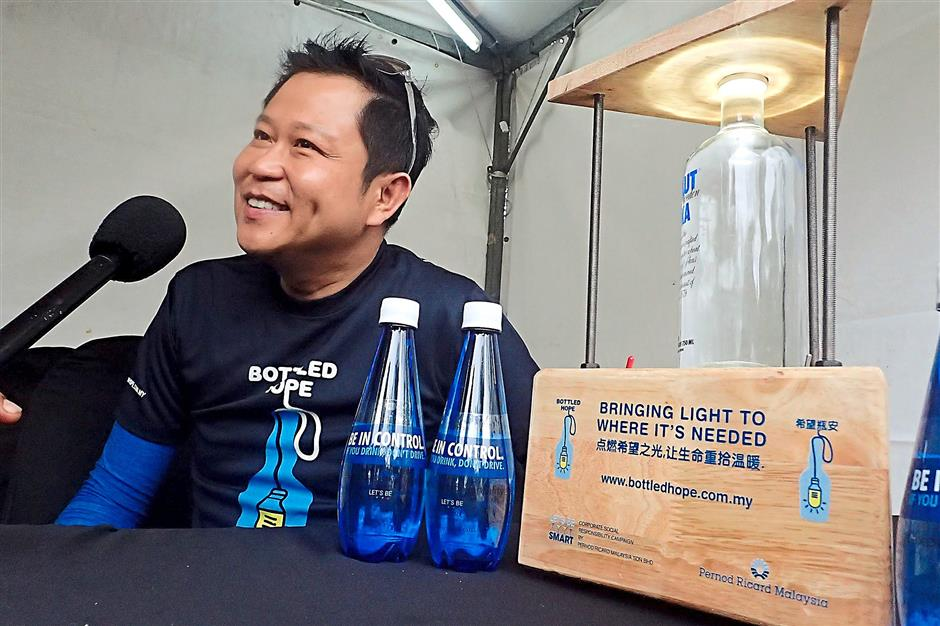 Pernod Ricard Malaysia managing director Terence Ong