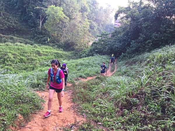 Trail running gives runners a different experience compared to road running.