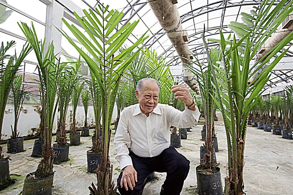 Tan Sri Dr Augustine Ong has been involved in palm oil research for over 40 years. (photo courtesy of Merdeka Award)