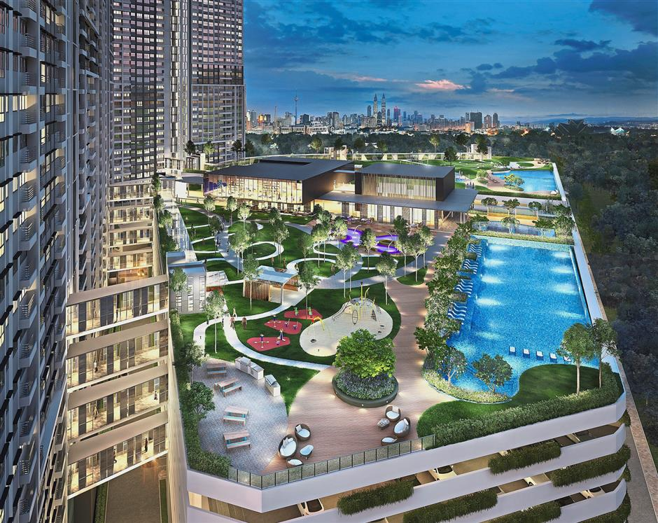 M Vertica by Mah Sing Group will be a landmark in Cheras once completed. It will feature residential units and shops.