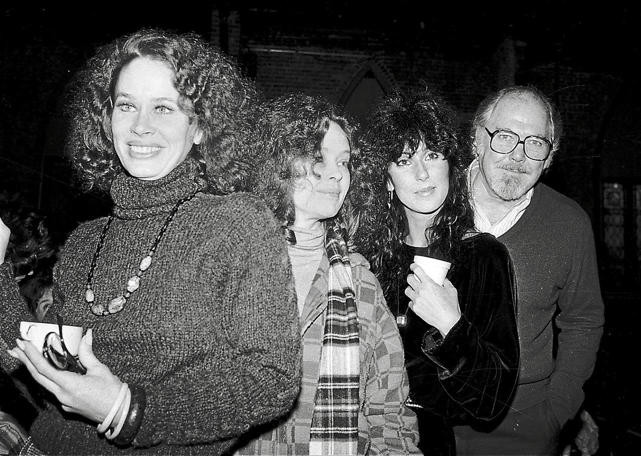 Tour de force: In this 1981 file photo, (from left) Karen Black poses with fellow actresses Sandy Dennis, Cher and director Robert Altman.