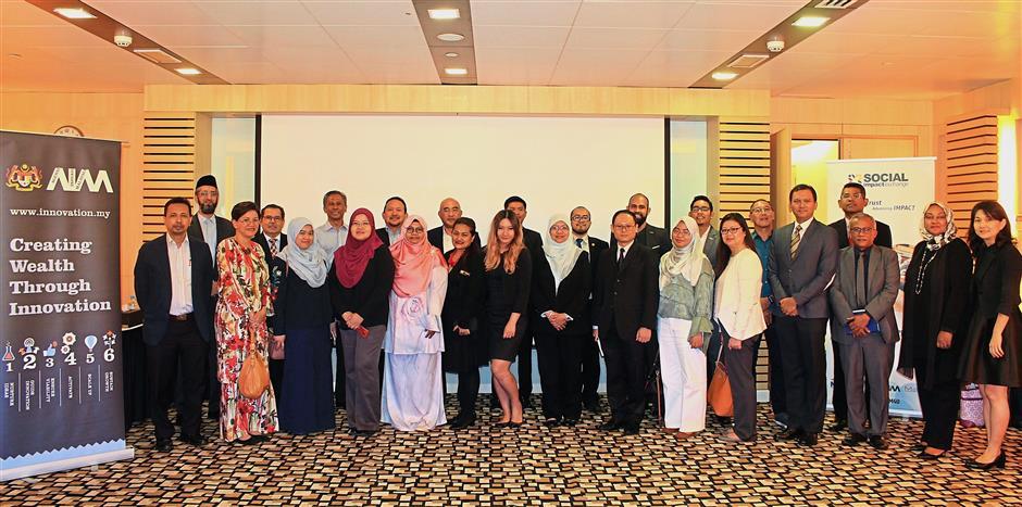 The meeting was attended by representatives from Bursa Malaysia, RoS, KWAP, IRD, MaGIC, Maybank Foundation, Maybank Investment Bank, PNB, Petrosains, Securities Commision Malaysia, Companies Commision Malaysia, UKAS, UNCDF and Khazanah Nasional's Yayasan Hasanah.