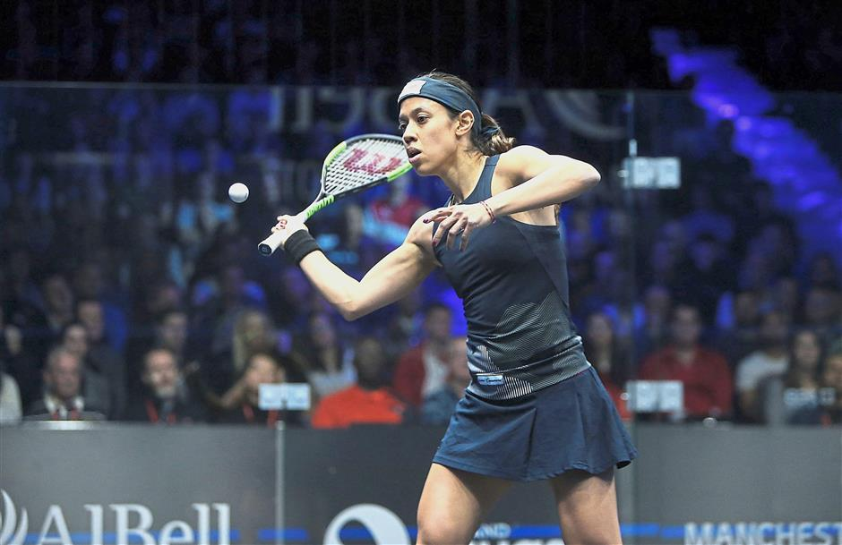 Still the one to beat: Nicol David will start her campaign against either Colette Sultana of Malta or Samantha Hennings of Cayman Islands in the second round in Gold Coast.