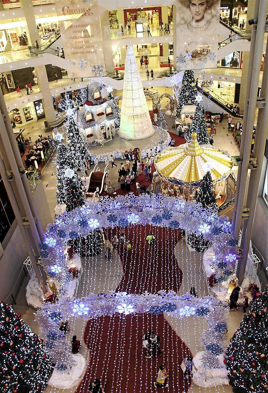 A White Christmas at Pavilion KL