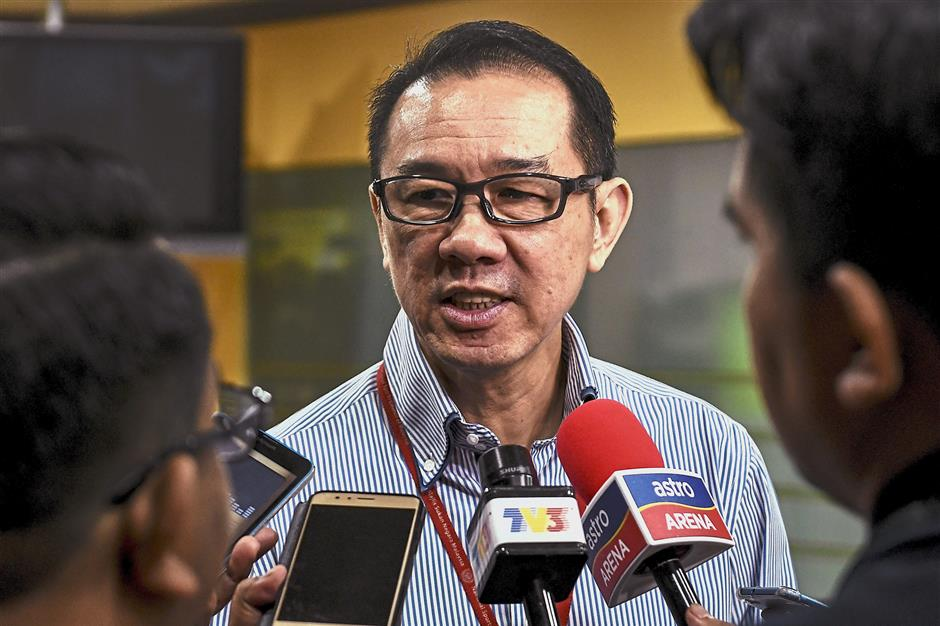 Positive: Datuk Ng Chin Chai is optimistic that the Malaysian squad is on track to meet the three-gold medal target for the Gold Coast Commonwealth Games.