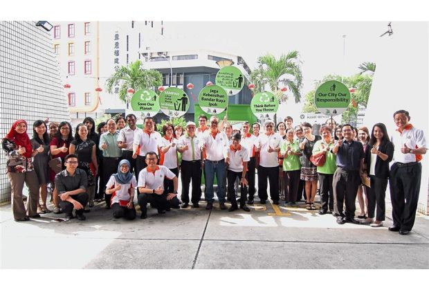 Pledging to go green   The Star Online