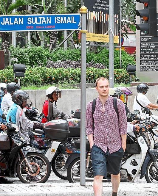 Gem of the city: Jalan Sultan Ismail is the must-visit place for tourists.