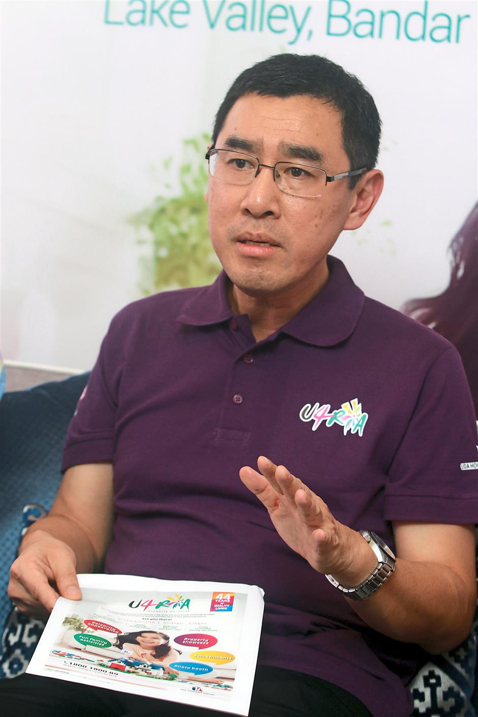 Raja Azmi says attractive incentives await buyers at the carnival.