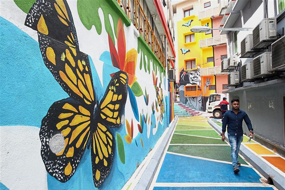 Dbkl Turning Alleys In Golden Triangle Into Pockets Of Sunshine