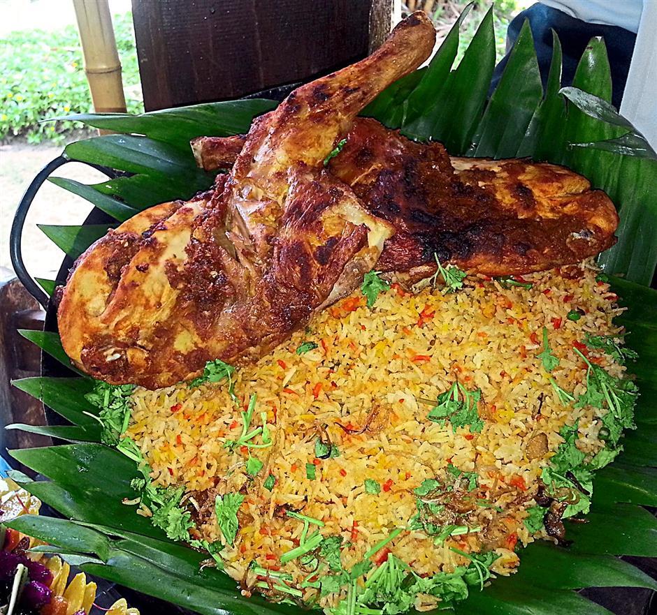 Feast on Nasi Beriyani Ayam and other other popular dishes this Ramadan at The Royale Bintang Resort & Spa Seremban.