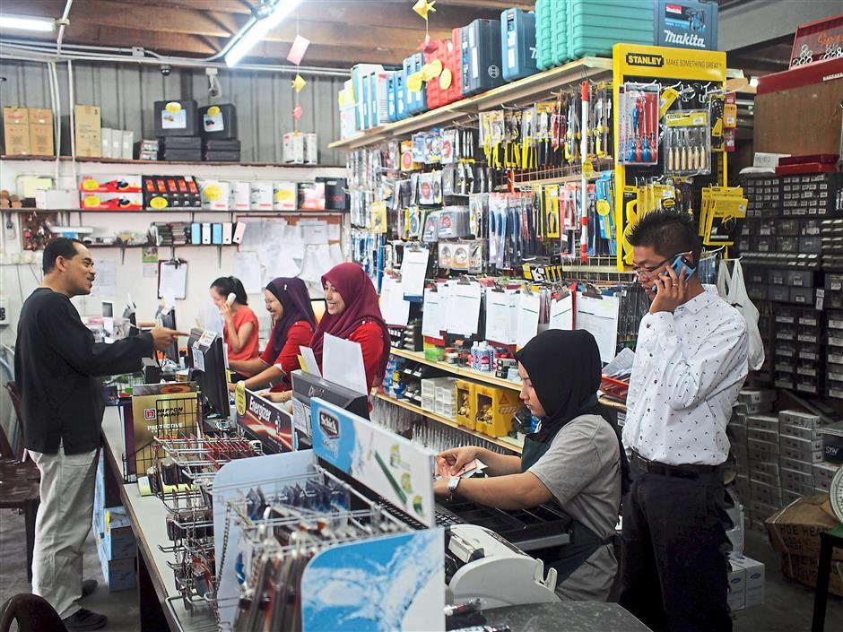 Hardware shop nails IT | The Star Online