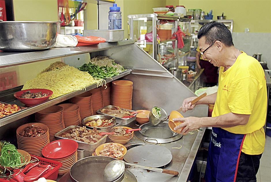 Review of Penang Prawn mee at Choon Prawn Mee House