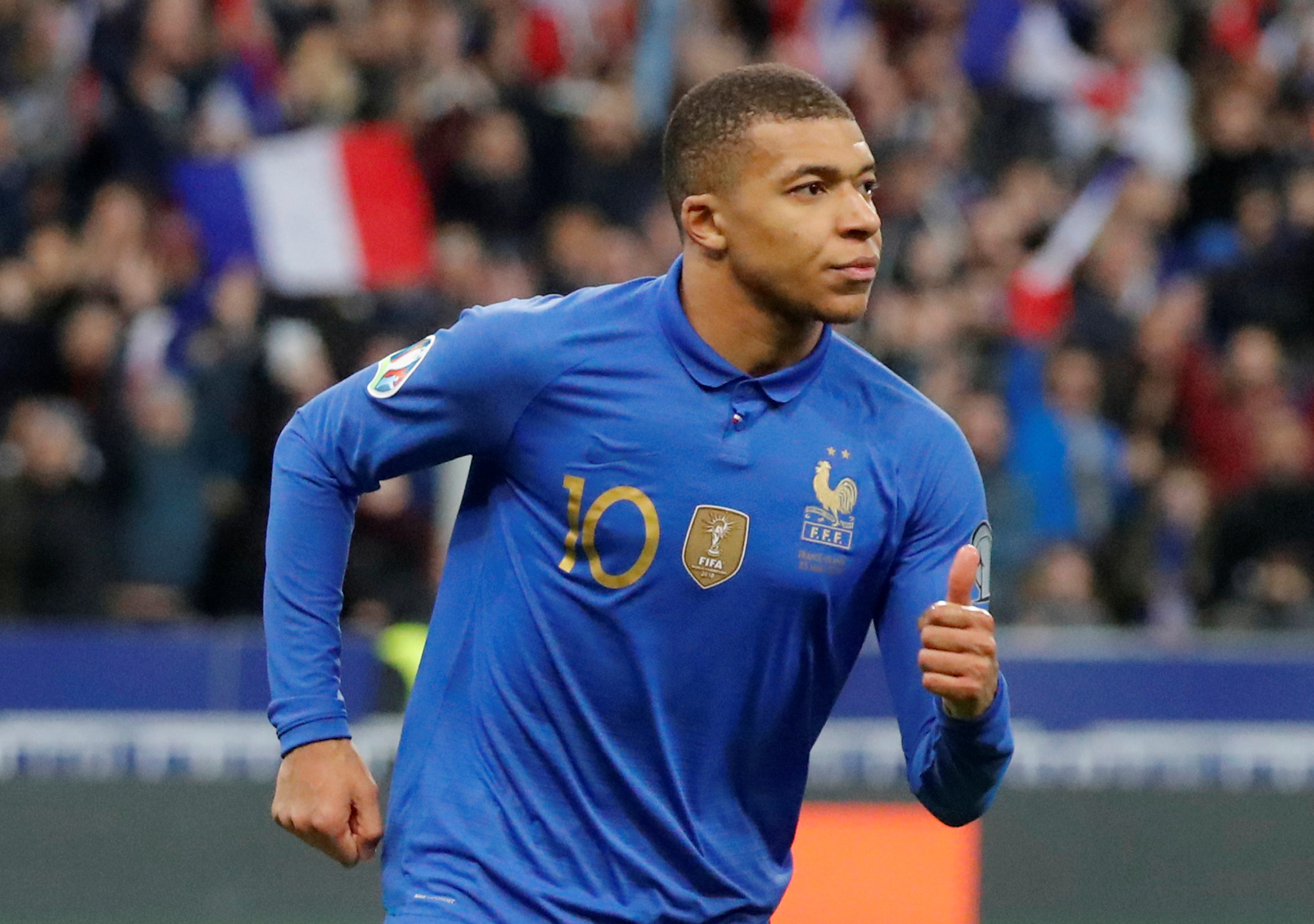 on sale 2df55 ac46a Mbappe continues his rise with France in Iceland rout | The ...