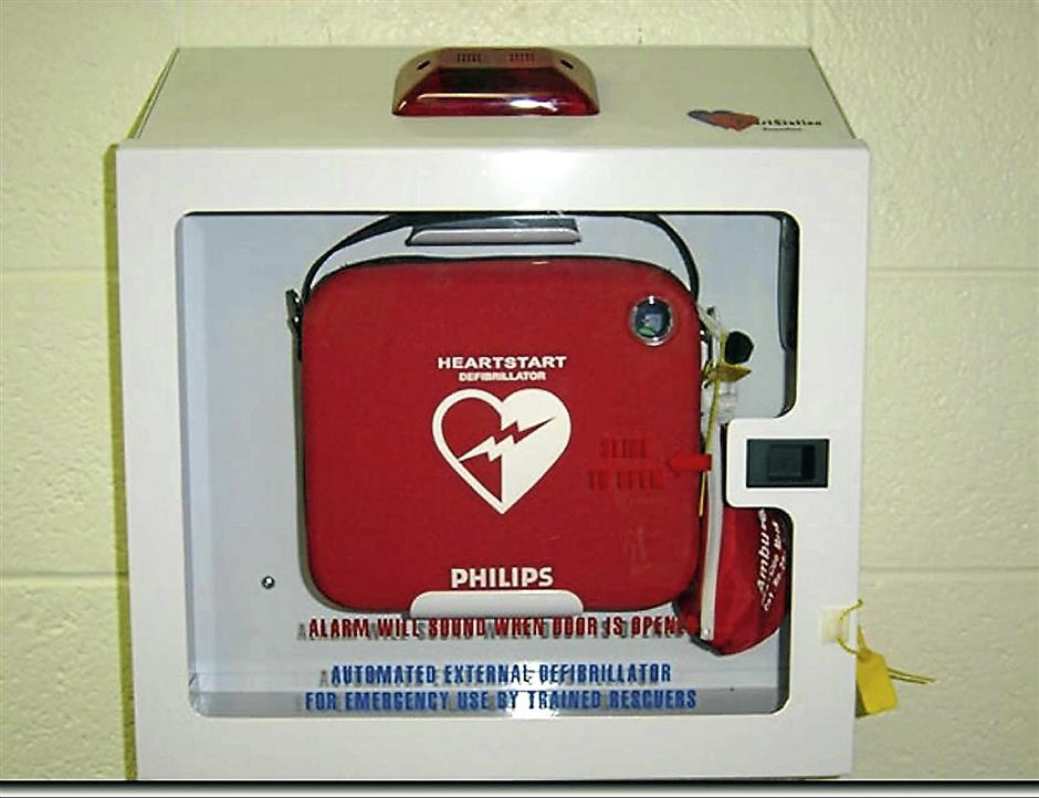 Automatic external defibrillators can be lifesavers in instances of heart attcaks outside a hospital setting.
