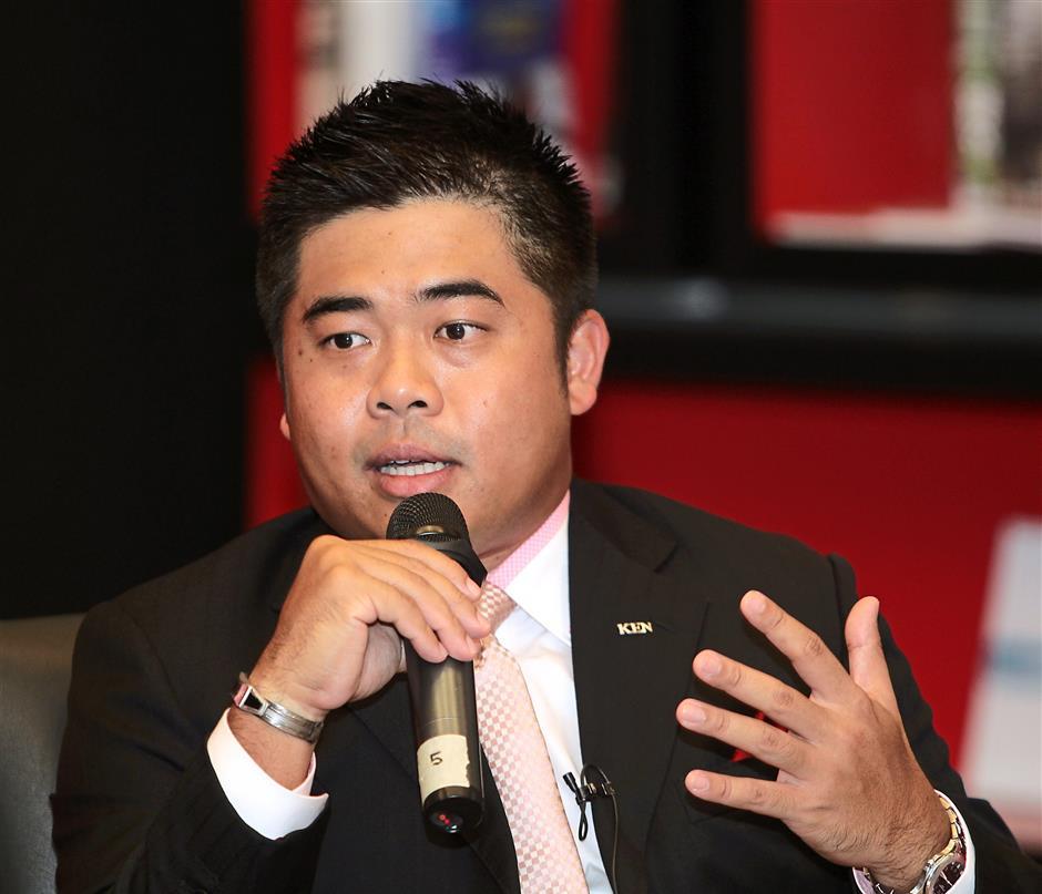 Ken Holdings Berhad group managing director Sam Tan (Shah Alam Roundtable forum at Menara Star. )AZMAN GHANI / The Star