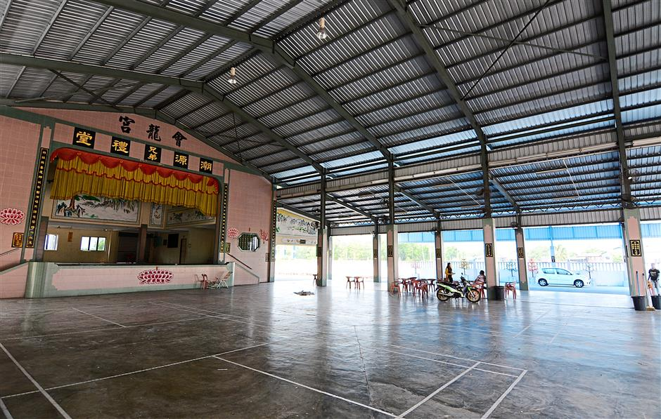 The Hui Long Gong multi-purpose hall is attached to the Hui Long Gong temple. It is used mainly for weddings and other big community events.
