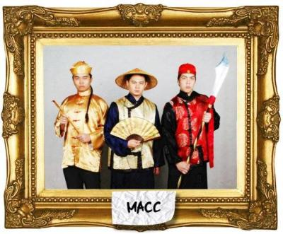 Dressed for success: The Malaysian Association of Chinese Comedians u2013 (from left) Phoon Chi Ho, Douglas Lim and Kuah Jenhan can make fun of themselves.
