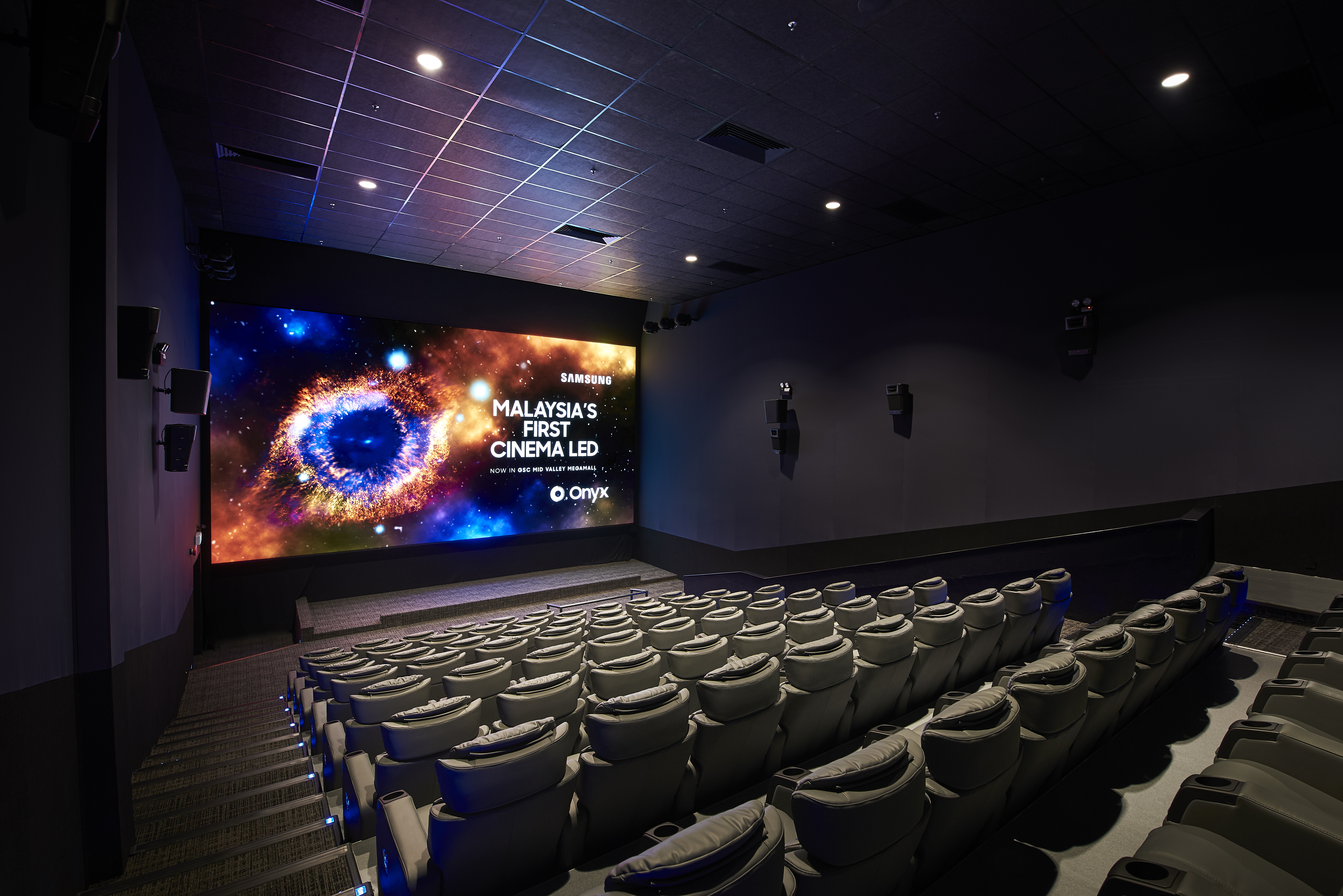 Gsc Unveils Giant Samsung Led Cinema Screen Onyx The Star