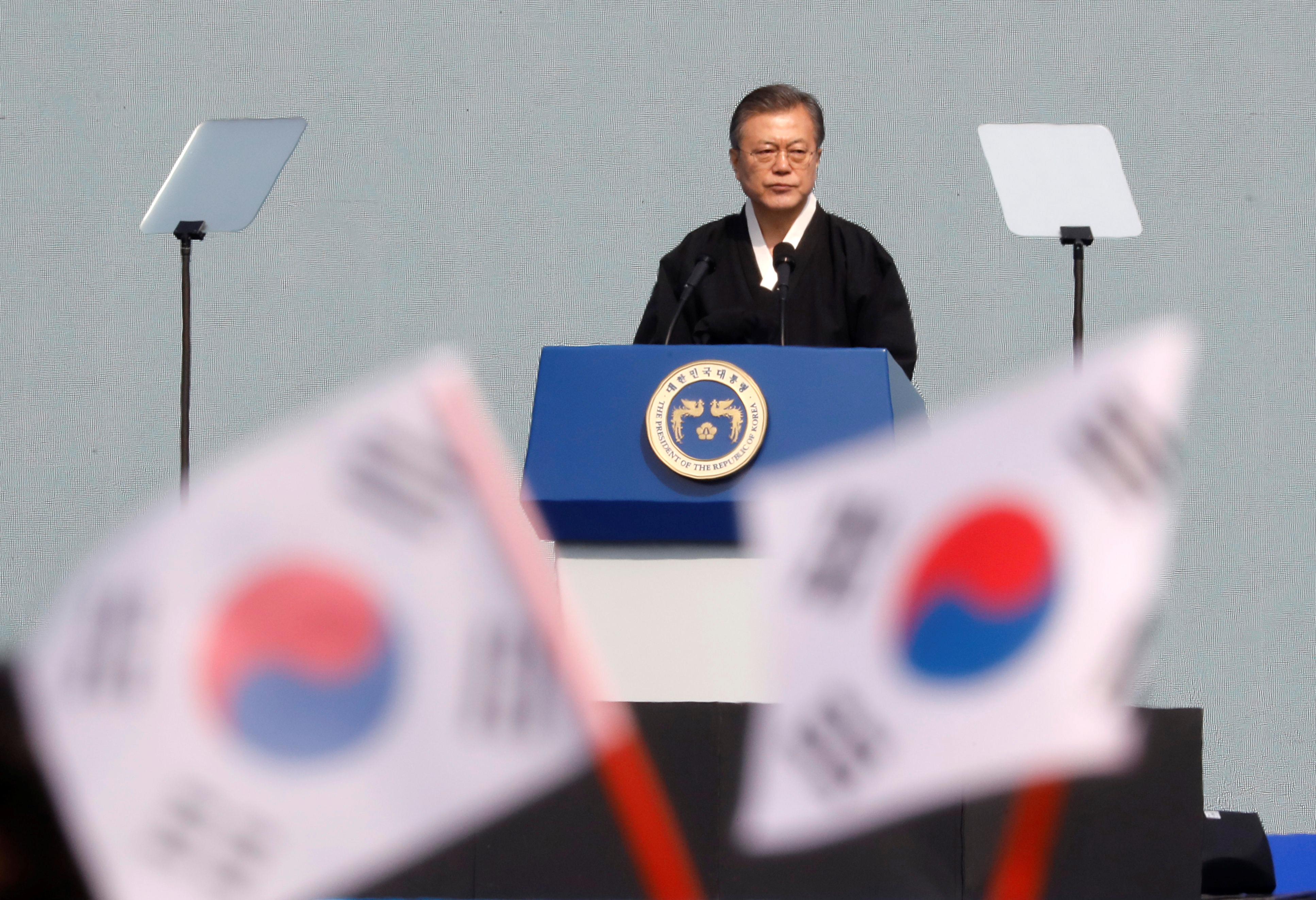 South Korea to work with U S , North Korea after failed