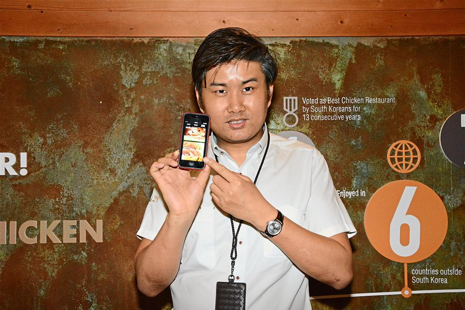 According to Terry Goh, KyoChon uses iBeacons to identify customers as they walk into its outlets.