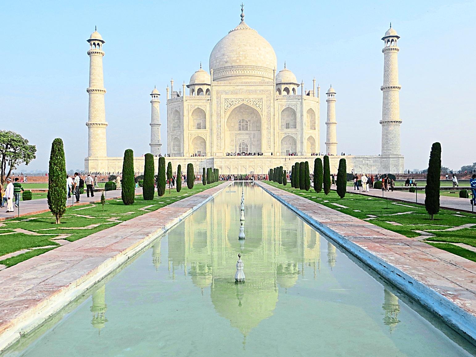 The absolutely spectacular Taj Mahal in Agra. - Photo from TripAdvisor