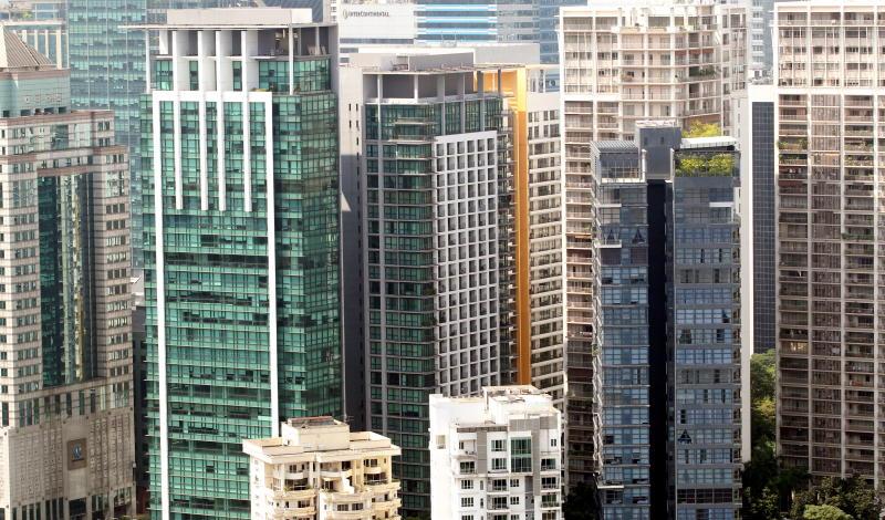 High rise buildings in Kuala Lumpur - filepic