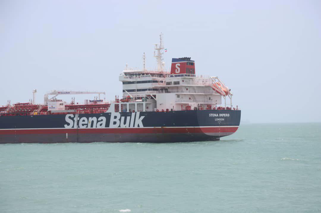 UK calls seizure of ship a 'hostile act'