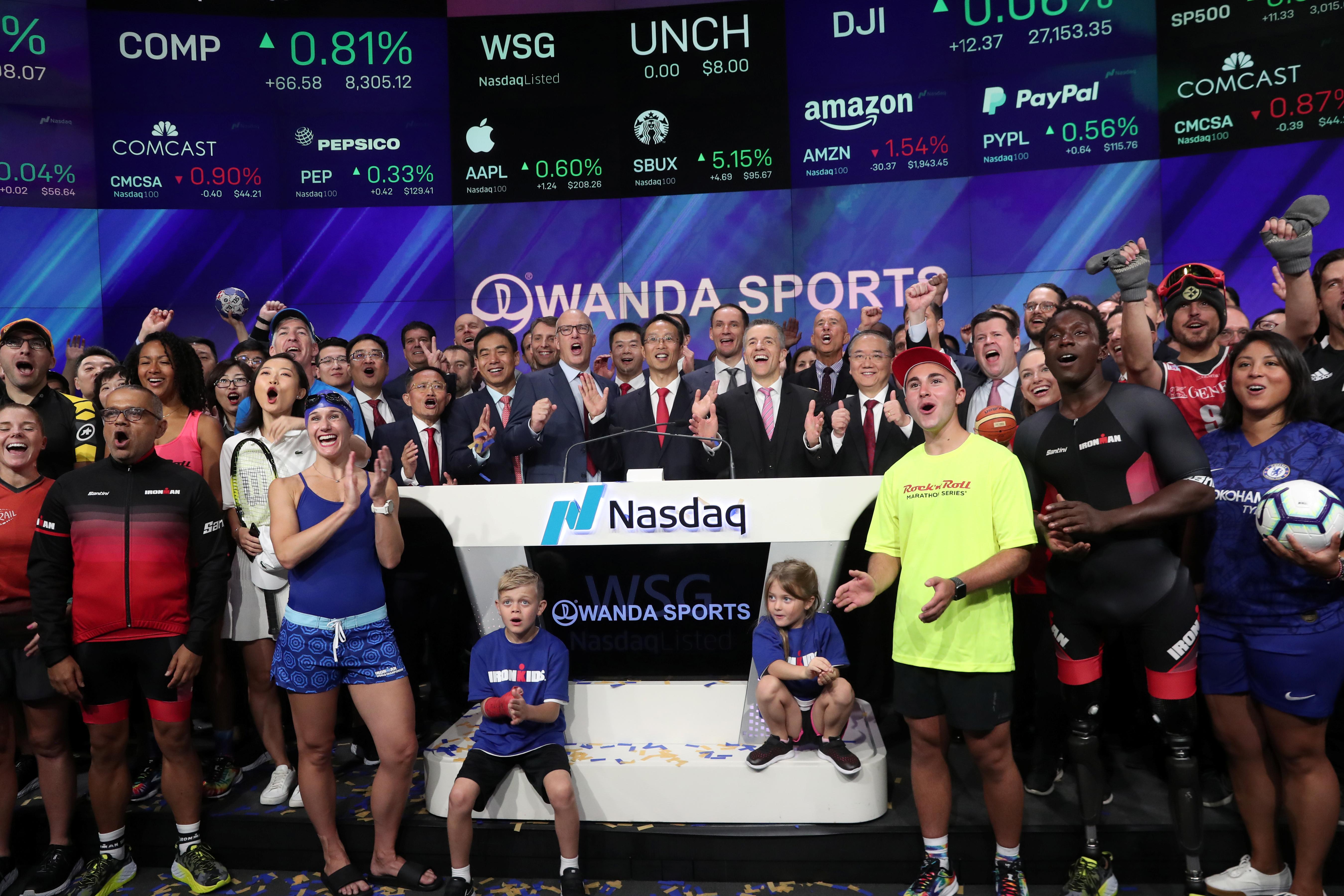 China's Wanda Sports raises $190 4 million in downsized IPO