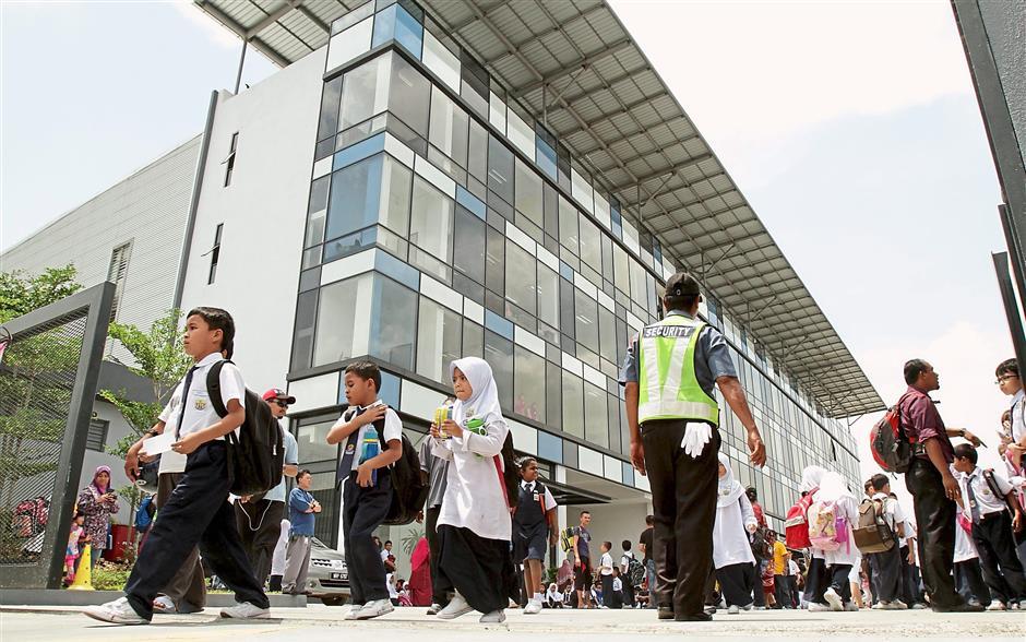 Traffic Improves At Sk Taman Sungai Besi Indah S Temporary Premises The Star
