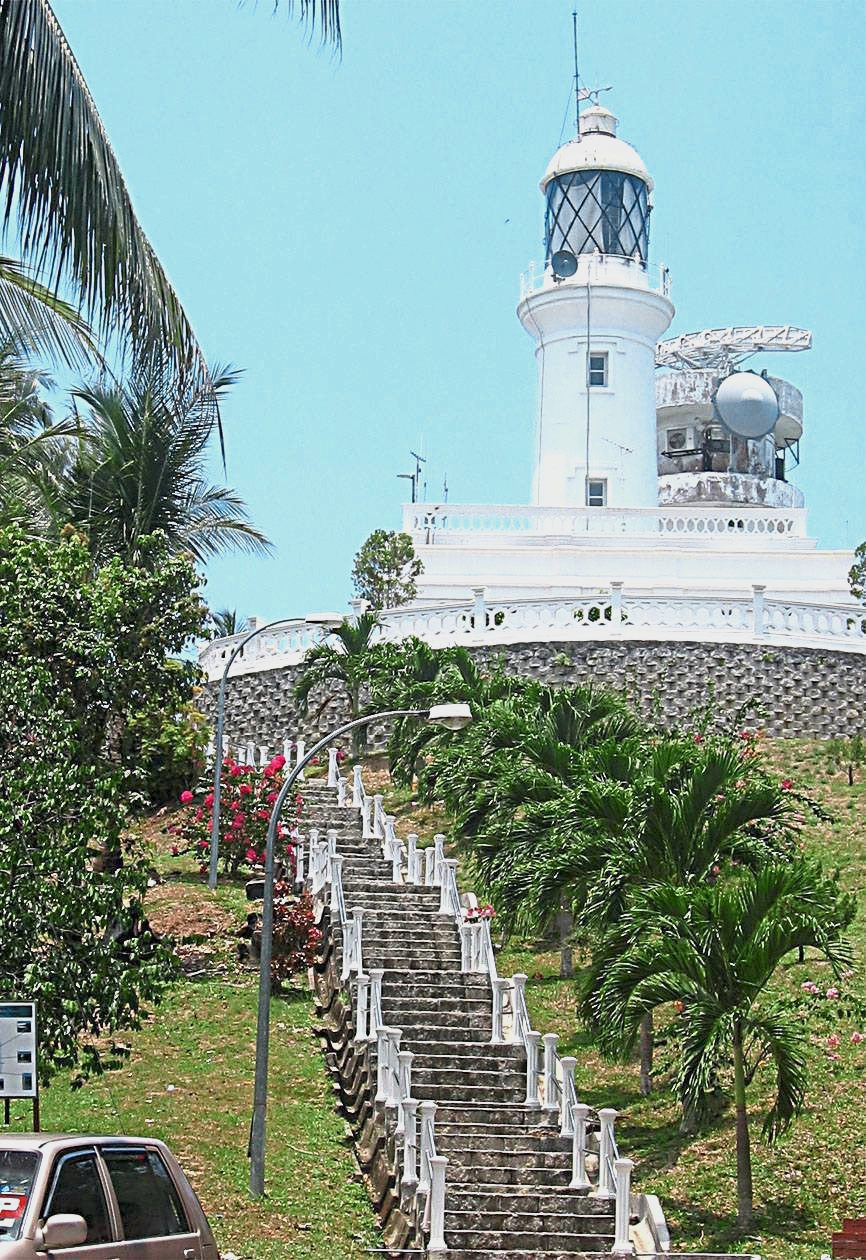 The Tanjung Tuan lighthouse, built in 1860, is the oldest such structure in Malaysia.