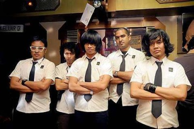 Indie Band Hujan In Action The Star