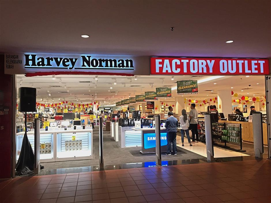 d324df5c75c Harvey Norman launches its first factory outlet | The Star Online