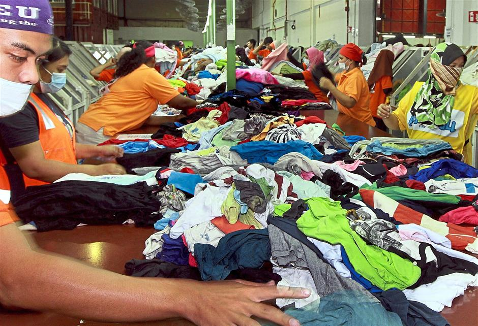 Company in Port Klang collects, grades and distributes used