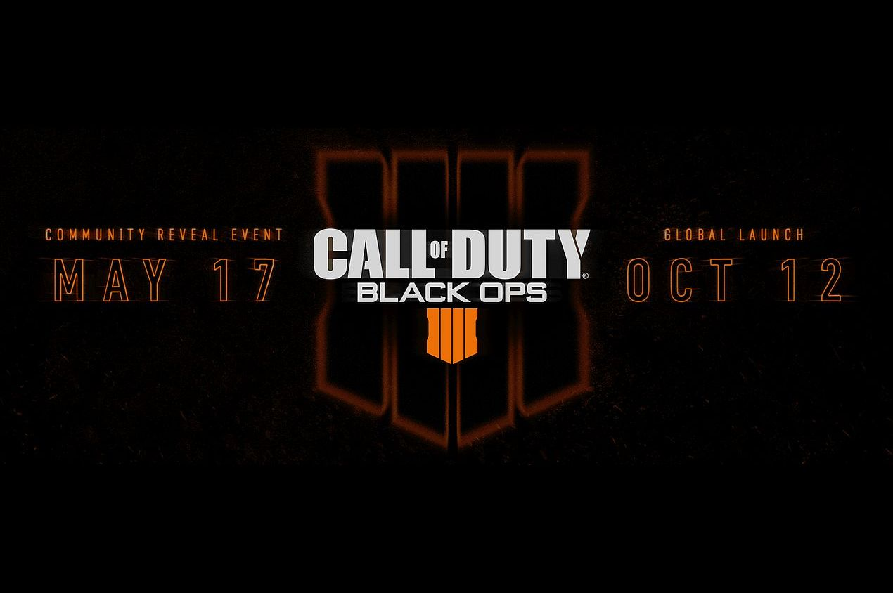 An official reveal for Call Of Duty: Black Ops 4 is due May 17. u2014 AFP Relaxnews