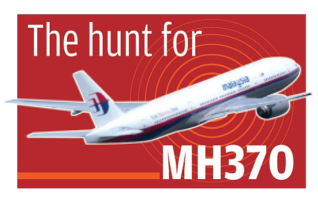The hunt for MH370 logo 2603