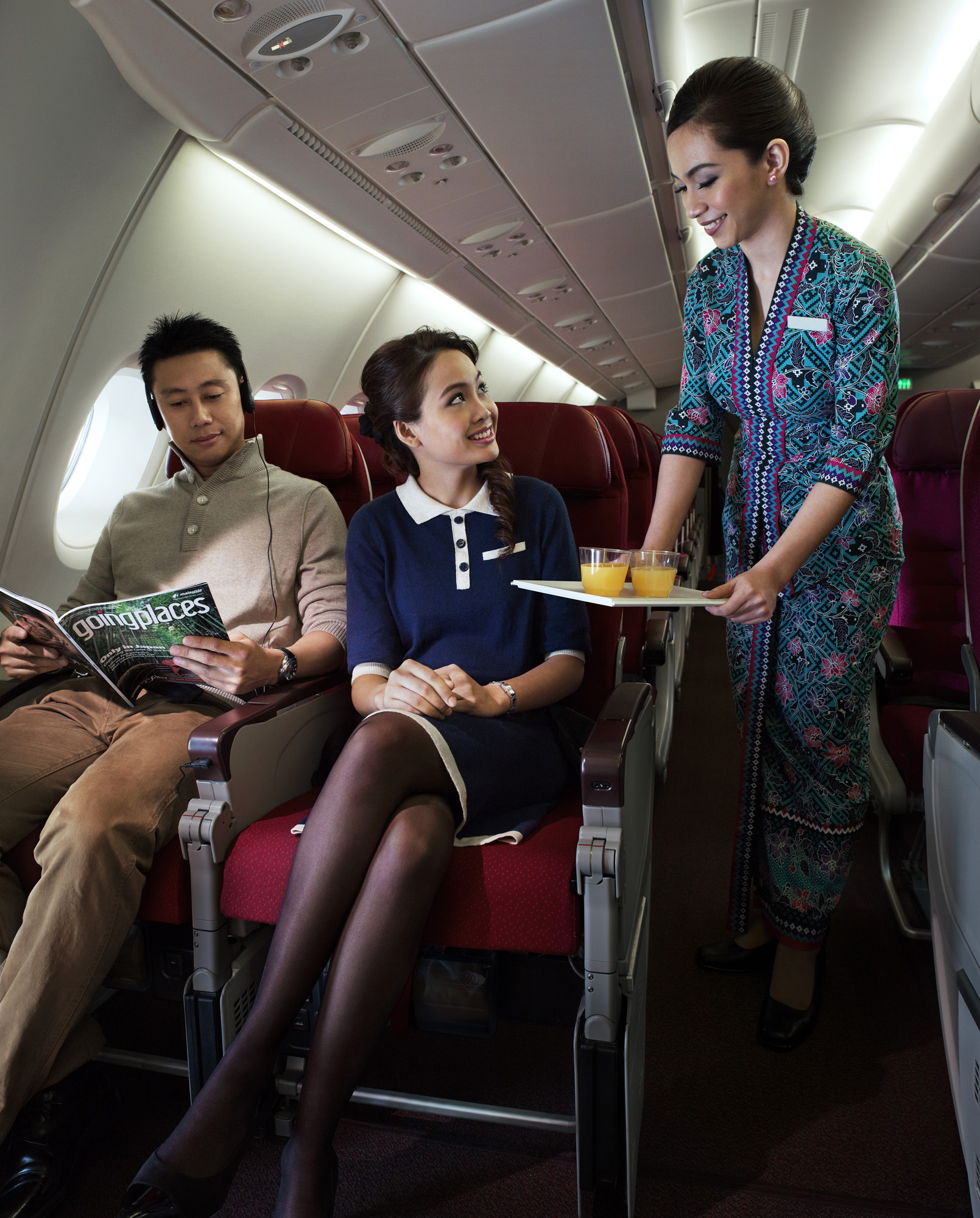 Malaysia Airlines has received many international awards for its service and hospitality! - Photo from Malaysia Airlines